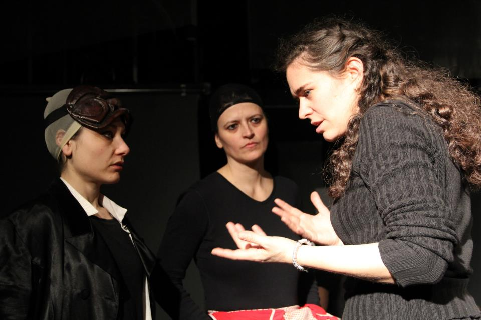 From left to right: Chiara D'Anna, Paola Cavallin, Emilia Teglia